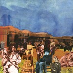 Donkey Town CD  Back Cover